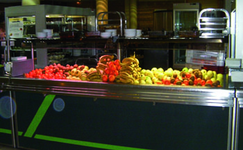 Buffet de fruit